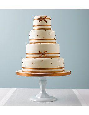 Daisy Pearl Wedding Cake Weddingheartcouk