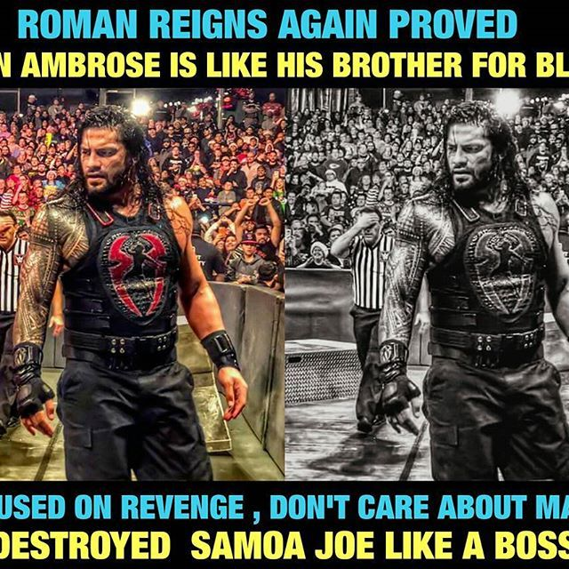 Everyone exciting for Ambrose turn Heel , but it's seems like Rollins heel turn soon ! Btw ROMAN REIGNS and DEAN AMBROSE Will be brothers for life , since day1 , they faught against , faught together in ring. After the match they are still brothers #BelieveThat , can't wait for Ambrose return. ☆☆☆☆☆☆ #wwe #romanreigns #raw #wweraw #sdlive #I Ctitle #sethrollins #deanambrose #shield #theshield #sashabanks #paige #absolution #bayley #tripleh #samoajoe #kevinowens #JasonJordan