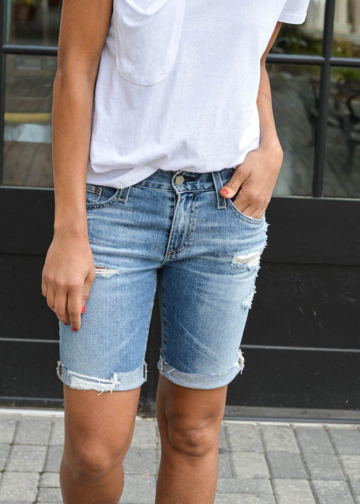 4fa825df9f AG Jeans Nikki Short- 16 years Indigo Deluge ***FINAL SALE*** ***FINAL SALE***  ***FINAL | Denim Daze | Ag jeans, Jeans, Distressed denim shorts
