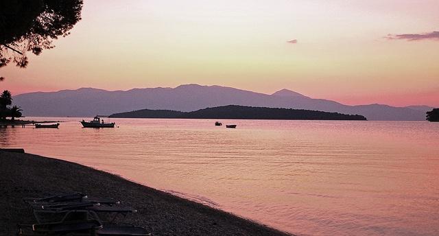 Lefkas Sunrise - Nidri Bay (Lefkas - Greece)
