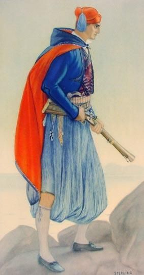 TRAVEL'IN GREECE I Vraka Aegean Islands Greek Costume