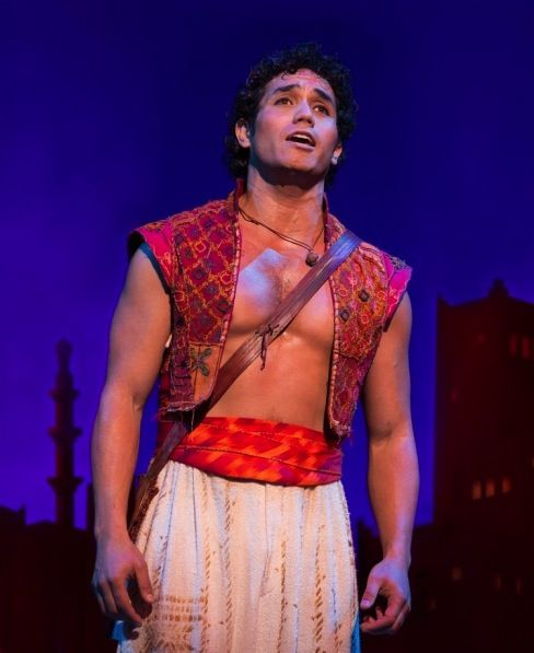 Adam Jacobs as Aladdin. Disney's Aladdin on Broadway. Interview with Costume Designer Gregg Barnes - Tyranny of Style