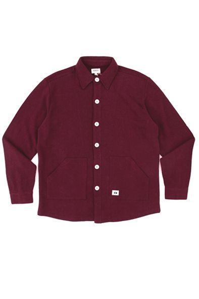 RCM CLOTHING / SHEPHERD SHIRT  Sustainable Hemp Apparel, 55% hemp 45% organic cotton fleece http://www.rcm-clothing.com/