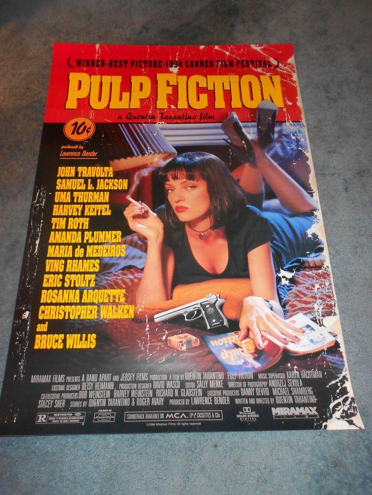 PULP FICTION(1994)DIR:QUENTIN TARANTINO ORIGINAL 1SHEET POSTER ROLLED UNUSED