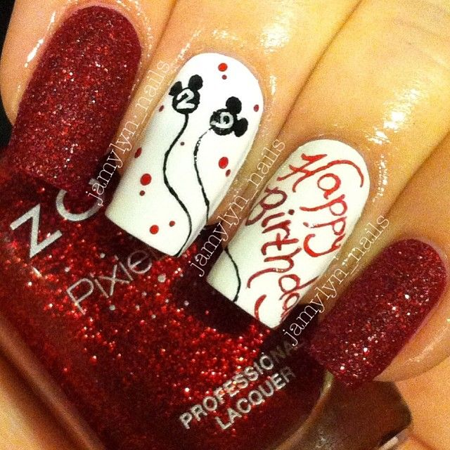 Instagram photo by jamylyn_nails #nail #nails #nailart - Best 25+ Birthday Nail Designs Ideas On Pinterest Fun Nails