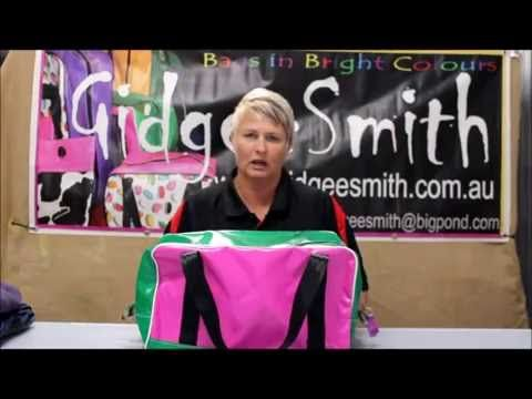 Gidgee Smith Carry On Bag Demo   $99.00  45cmL x 23cmW x 25cmH  Made from quality PVC and designed to last a lifetime