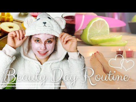 ♡ BEAUTY DAY ROUTINE ♡ | BibisBeautyPalace - YouTube