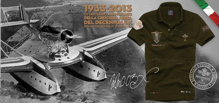 "MM003X Dedicated to the 80 Anniversary fo ""Decennale of Arma Azzurra"" Atlantic Flight"