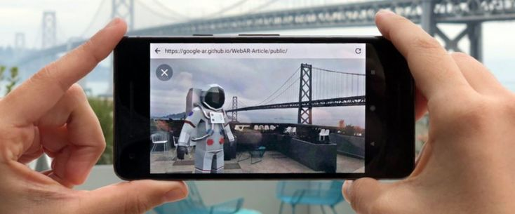 This is Googles vision for augmented reality content on the web
