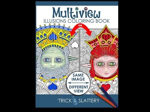 Video Walk-through of Multiview Illusions Coloring Book: http://tricksplace.com/multiview-illusions-coloring-book/  #coloring #coloring #coloringbook #coloringbook #adultcoloring #adultcolouring #opticalillusions #coloringforadults