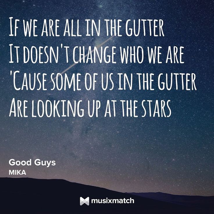 Good Guys - Mika