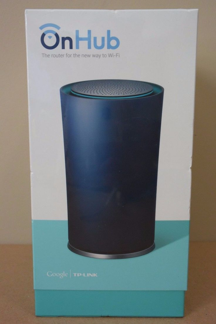 (NEW) TP-LINK Google OnHub Dual-Band AC1900 Wireless WiFi Router TGR1900 (BLUE)