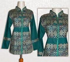 Model Baju Batik Untuk Kerja Terbaru 2014   Fashion DesainKu