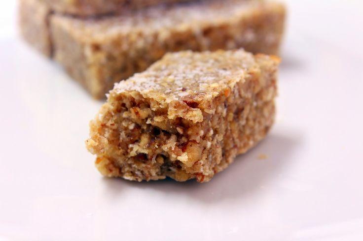 Barras proteicas feitas em casa, deliciosas e sem açúcar nem adoçantes adicionados.