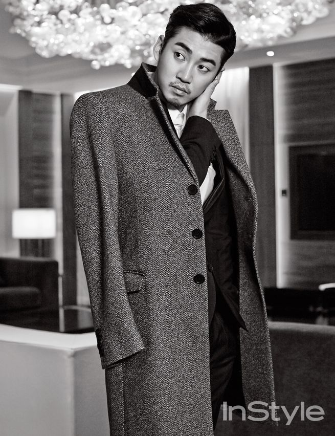 Yoon Kye Sang InStyle Korea November 2014 Look 2