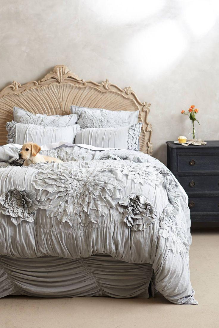 Anthropologie   Georgina Duvet  This Bed Looks Heavenly.