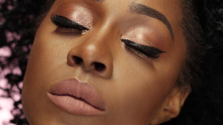Neutral Makeup for DARK SKIN | Trucco Naturale Pelle Scura + Fondotinta ...