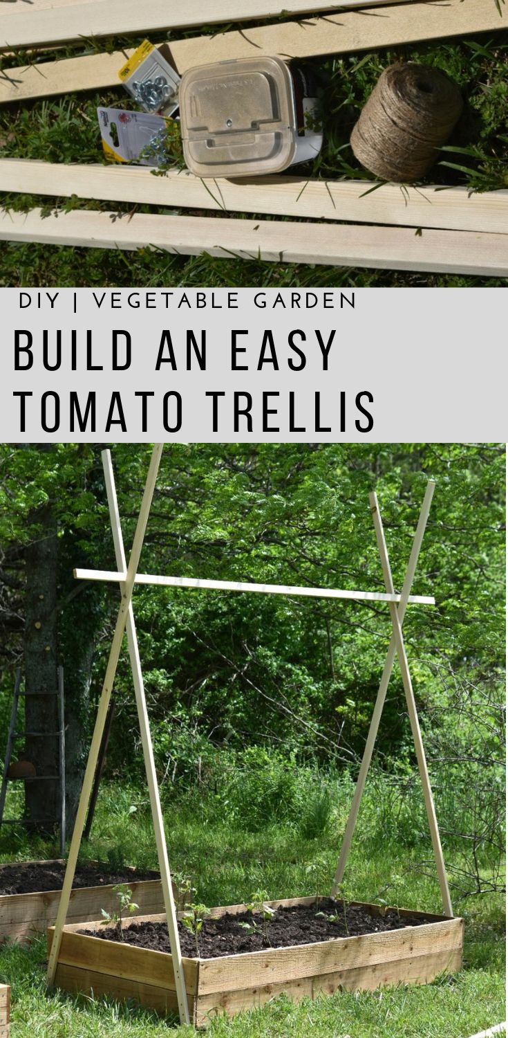 DIY Raised Bed | Easy Tomato Trellis |