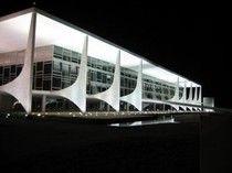 Дворец правительства в Бразилиа 1960