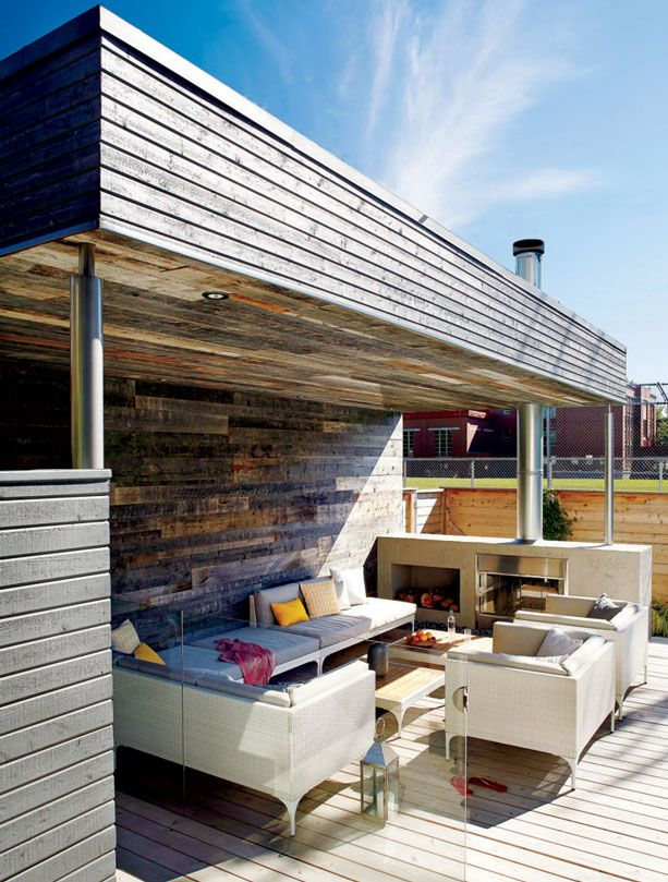 Les 77 meilleures images du tableau d co balcon terrasses for Foyer exterieur a donner