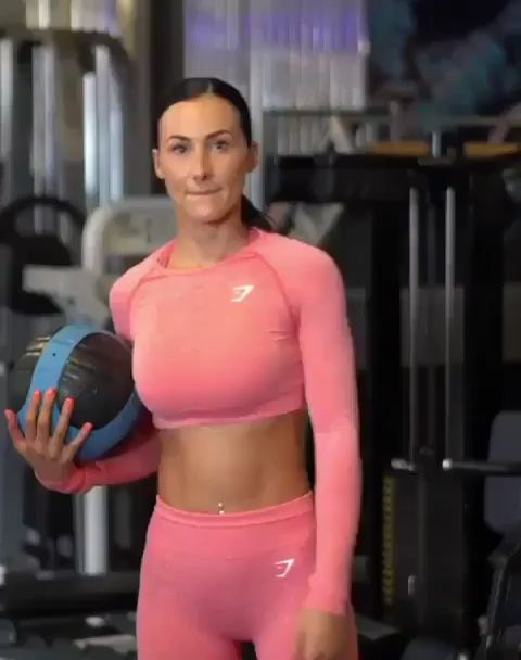 Simple ball can make abs