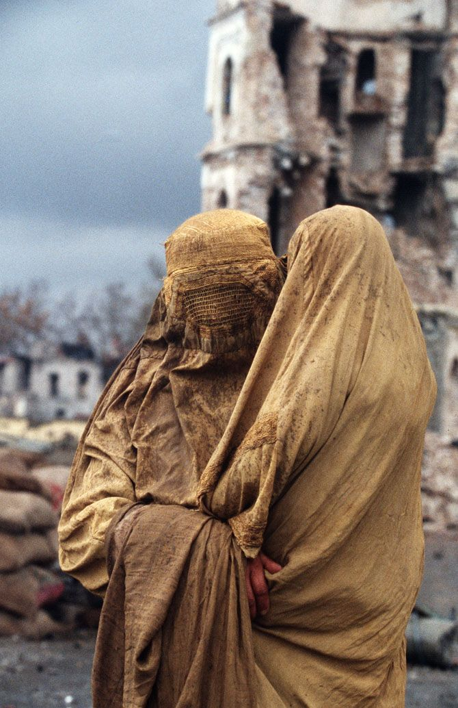 Afghanistan (It would be interesting to know who is under there and what their life is like)