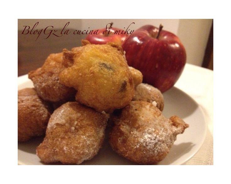 Frittelle di mele e uvetta senza glutine. BlogGz la cucina di miky