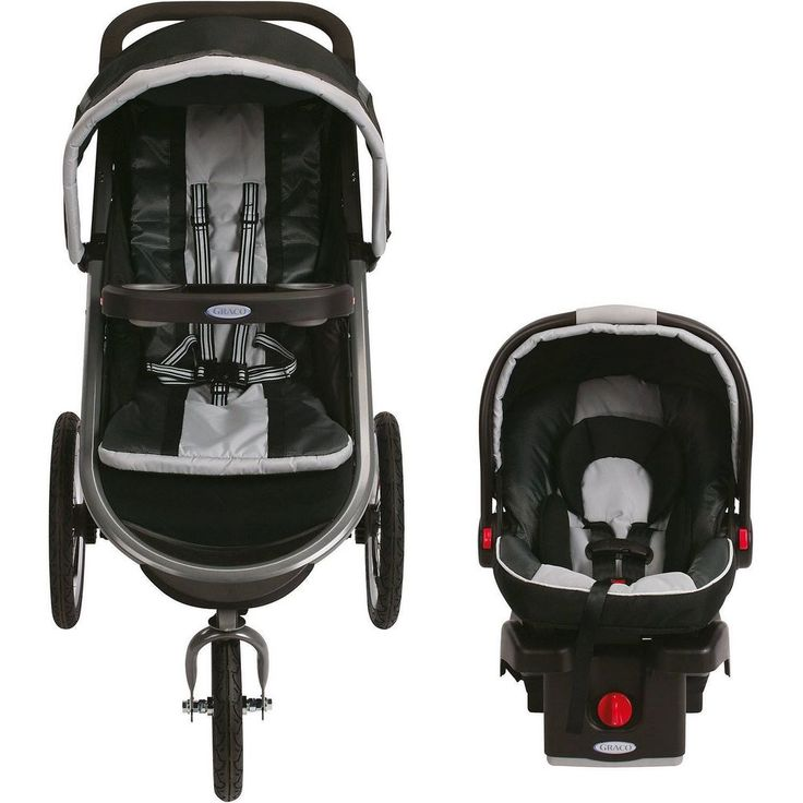 Graco FastAction Fold Jogger Click Connect Travel System Jogging Stroller #GracoFastActionFold