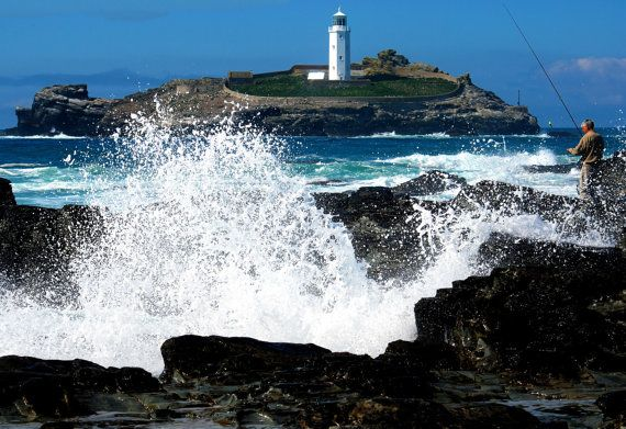 Limited Edition 8x10 Signed Print  'Godrevy by thelongwayround