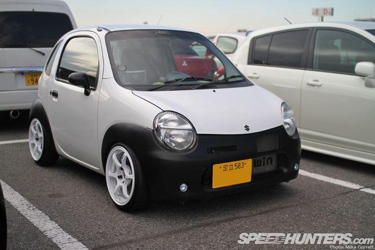 incredibly tiny Suzuki Twin kei car
