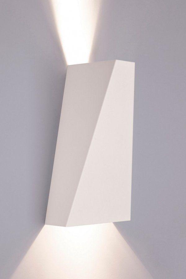 Lampa Kinkiet Gora Dol Nowodvorski Narwik 9702 Bialy Nowoczesny Loft Style Wall Lights Light