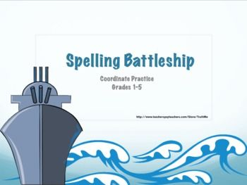 Similar to my original Spelling Latitude and Longitude Battleship game but using Coordinates. The game is simpler in nature and can be played from ...