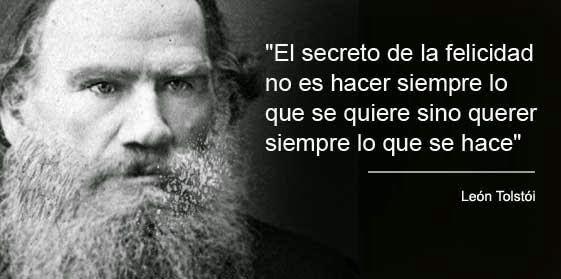 10 frases de León Tolstói - Taringa!