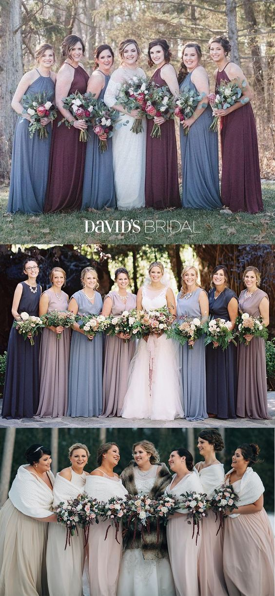 f2d6b963868 Find bridesmaid dresses your besties will adore at David s Bridal. Our  exclusive collection ranges from soft mesh to structured satin