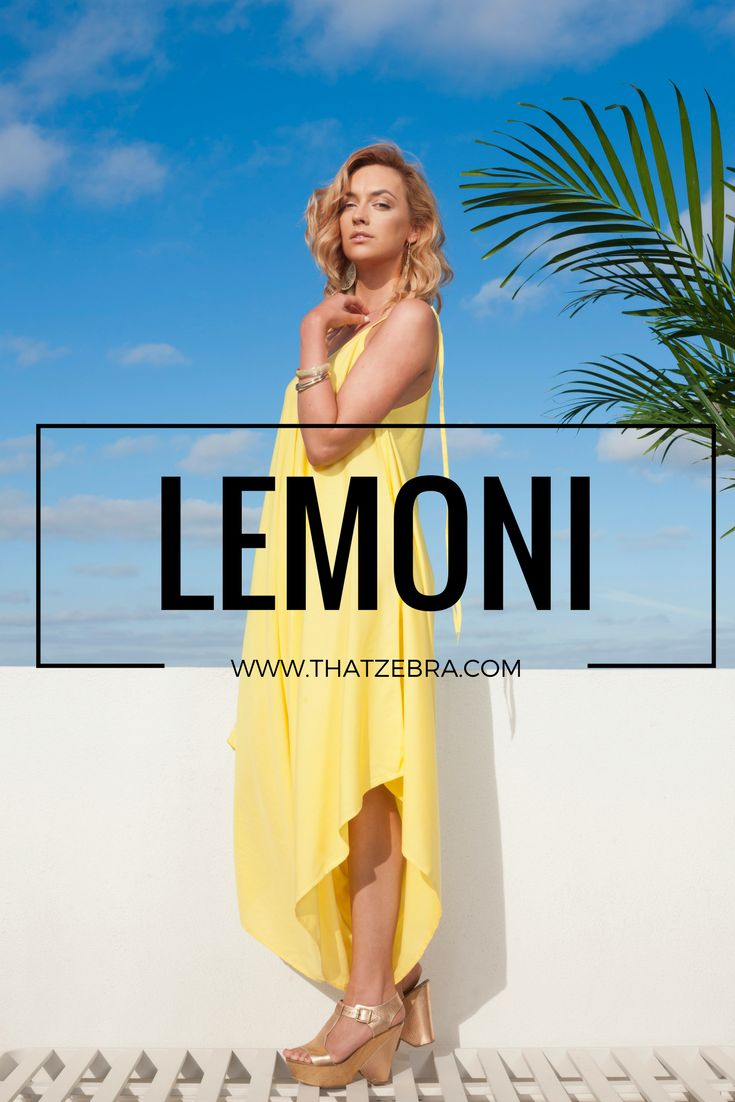 Happiness, sun, optimism…or lemons…either way, attention is all yours…use it wisely.   It's labelled as the trickiest colour to wear. We love it, as there isn't much more to add. A block yellow colour is a star and you don't need think about dressing it up or down. Simple as that.  $97 SHOP at http://www.thatzebra.com/product/lemoni/ #jumpsuit #haremjumpsuit #fashion