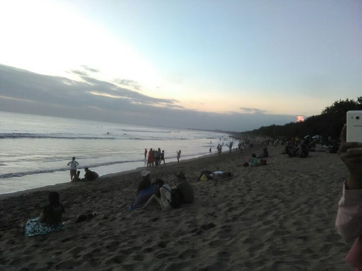 Kuta's sunset
