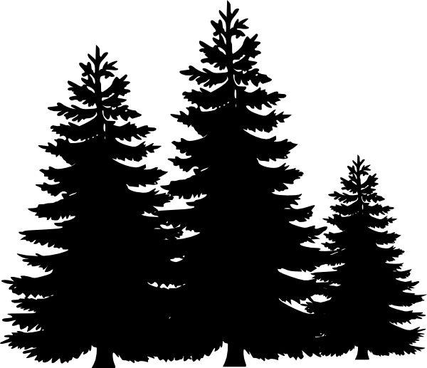 evergreen tree stencil - Google Search