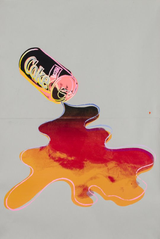 Andy Warhol, New Coke 1985