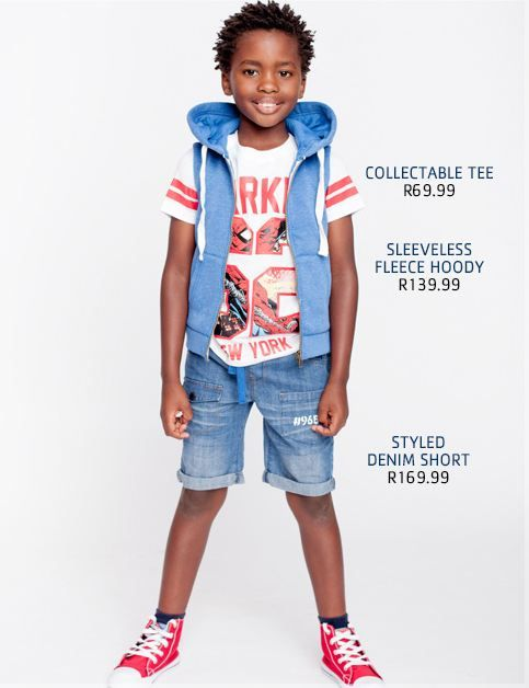 Mpumelelo S for Pick 'N Pay Clothing