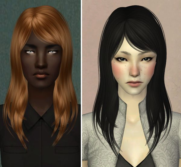 Sims 2 Hairstyles
