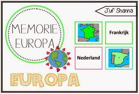 Juf Shanna: Memorie Europa