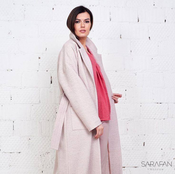 Пальто из лодена Sarafan Moscow