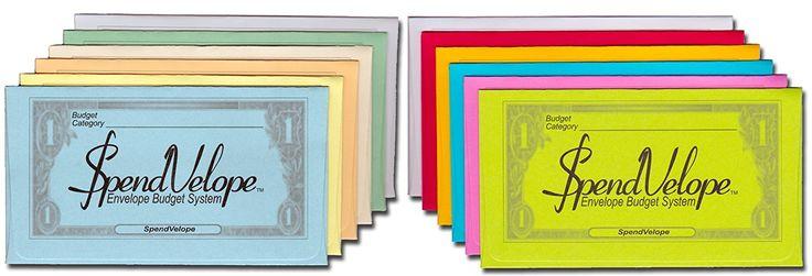 Amazon.com : SpendVelope Envelope Budget System : Expense Envelopes : Office Products