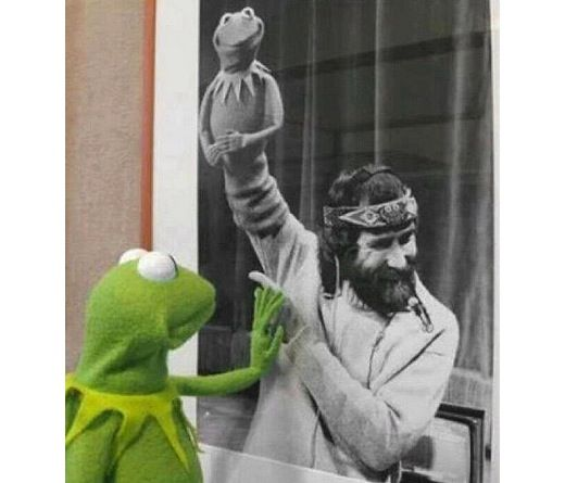 Don't Feel Bad That I'm Gone: A Letter From Jim Henson to His Children: Picture, Sweet, Rainbows Connection, Jimhenson, Jim Henson, Kermit, My Heart, The Muppets, Photo