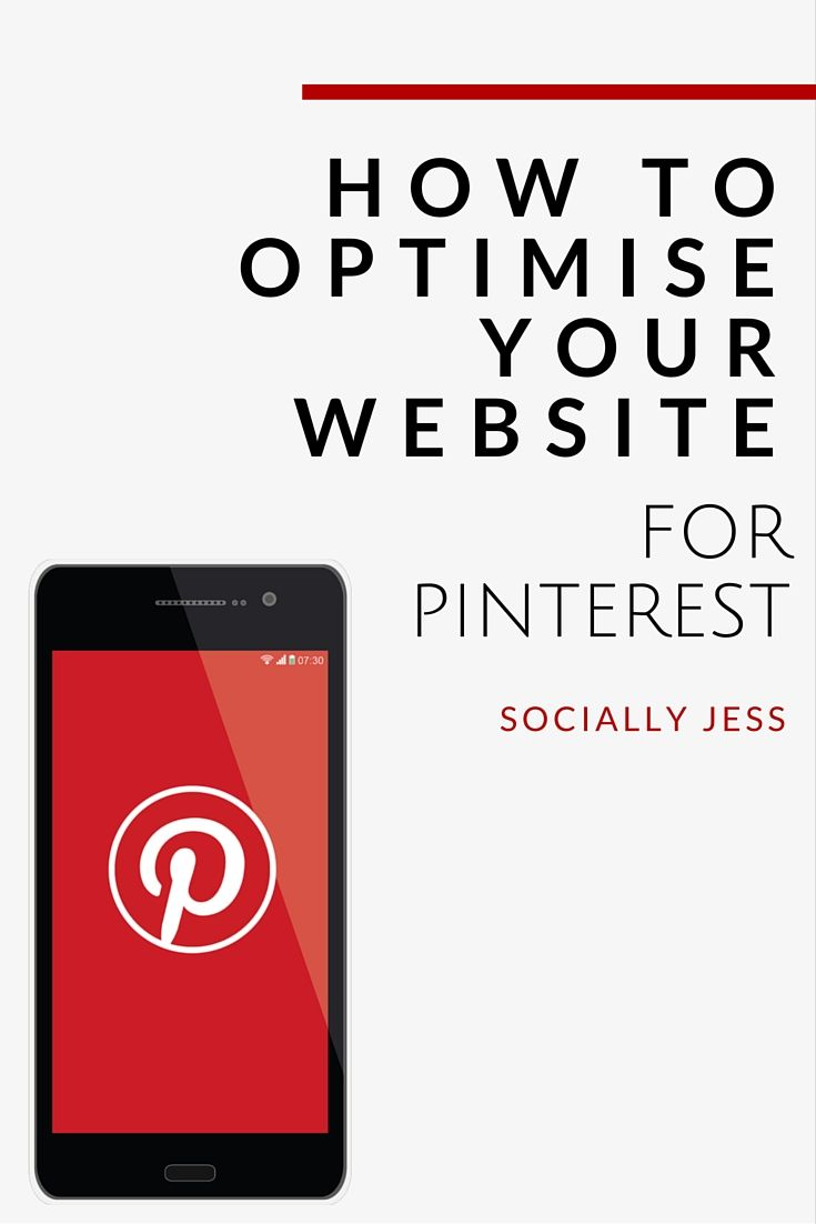 Optimising your website or blog for Pinterest will help drive new traffic to your site and also encourage purchases. Learn the best ways to optimise your site for Pinterest, including how to auto-fill Pinterest descriptions, how to encourage more of your visitors to pin your content, and more.