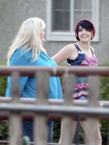 Mother and daughter bonding continues for Debbie Rowe and Paris Jackson with a day of activities including a visit to a pageant competition in Palmdale, a friends horse ranch in Temecula and Hana Sushi in Temecula, California on May 4, 2013.