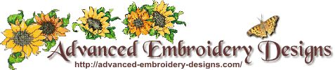Advanced Embroidery Designs -- Online Center for Machine Embroidery Designs -  Many patterns and tutorials for lots of techniques