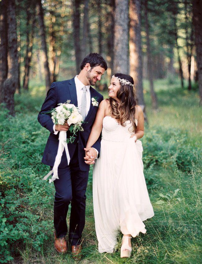 Essentially My Perfect Wedding Intimate Woodsy Bohemian Amanda Eli