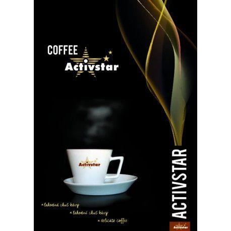 Káva Activsta  - mletá 225 gramov http://845599.activstar.sk  http://845599.activstar.cz