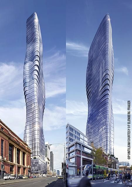 Slim and curvy. What do you think about the new Premier Tower in Melbourne, Australia? http://autode.sk/1N8l7XN